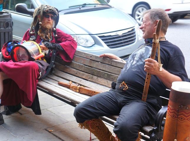 Random scenes at downtown Asheville, North Carolina.