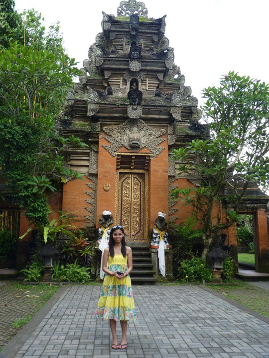 Ubud Kingdom Palace in Bali, Indonesia.