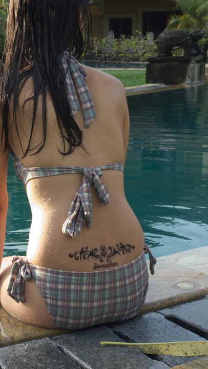 Henna Tattoo in Bali, Indonesia.