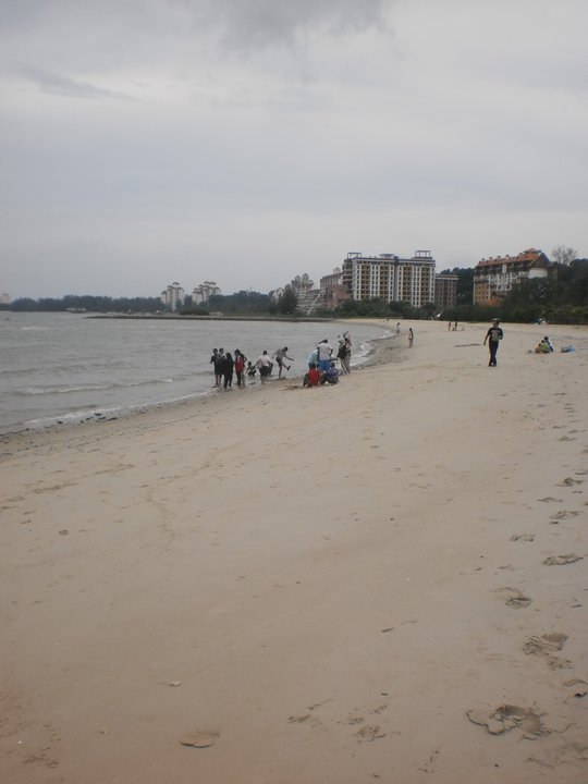Port Dickson in Malaysia is popular for its beaches.