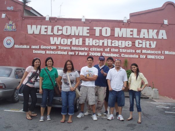 Malacca, located in the southern region of Malaysia,  is a declared UNESCO World Heritage Site.
