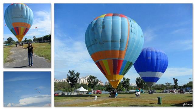 Annual Hot Air Balloon Festival in Putrajaya, Malaysia.