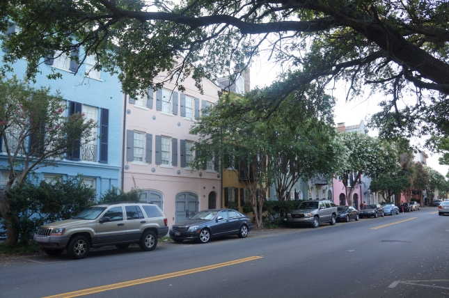 Rainbow Street in Charleston, South Carolina