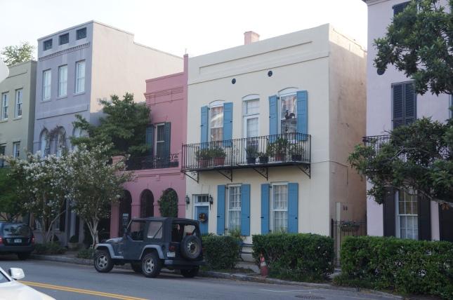 Rainbow Street in Charleston, South Carolina