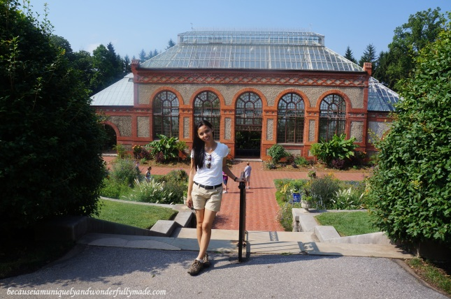 The greenhouse at Biltmore House and Estate in Asheville, North Carolina.