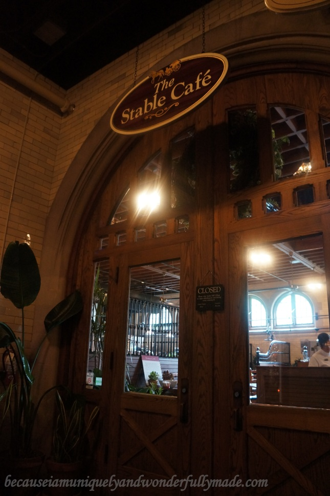 The Stable Cafe in Biltmore House and Estate offers a sumptuous lunch and amazing dining experience where dining booths are formerly horse stalls.