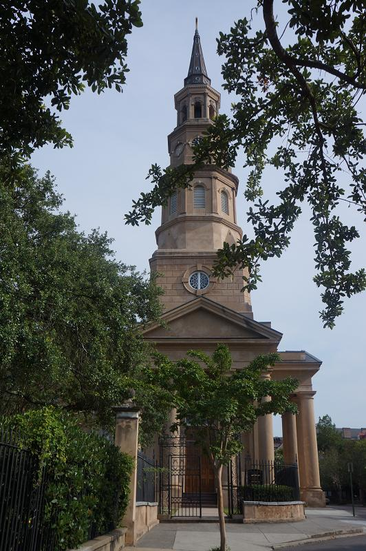 Anglican Church St.Philips in Charleston, South Carolina