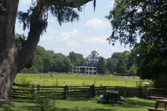 View of the Magnolia House from a distance - Charleston, South Carolina.