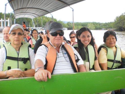 boat ride to James Bond Island