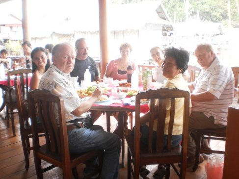 lunch at Koh Panyi Village, Thailand