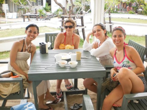 lunch at Koh Phi Phi Don, Thailand