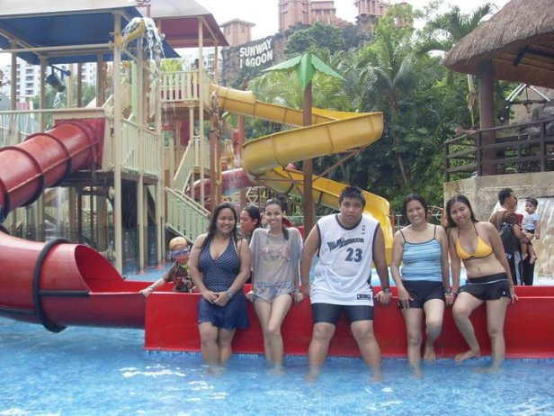 The water park at Sunway Lagoon in Petaling Jaya, Malaysia.