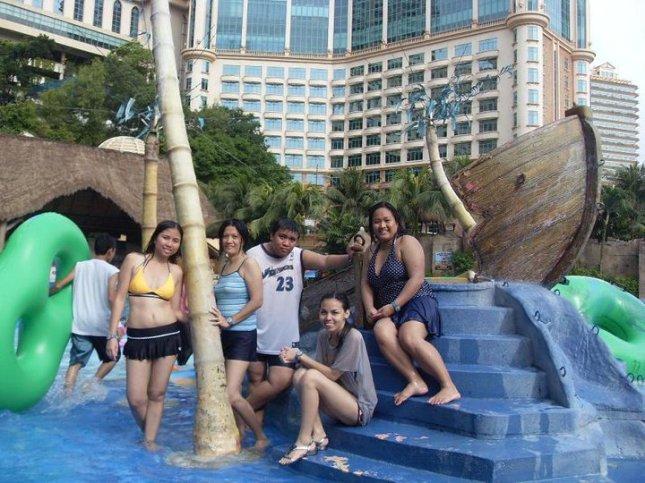 The water park at Sunway Lagoon in Petaling Jaya, Malaysia.