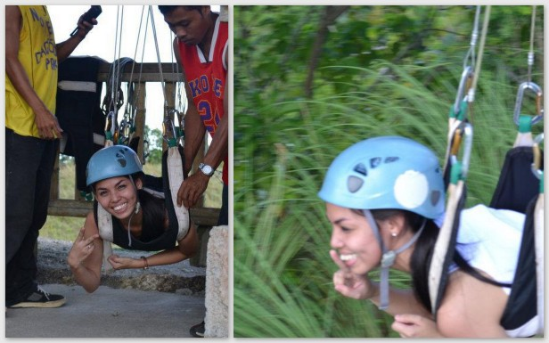 Suislide zipline at E.A.T. Danao (Extreme/Eco/Educational Adventure Tour), Bohol, Philippines