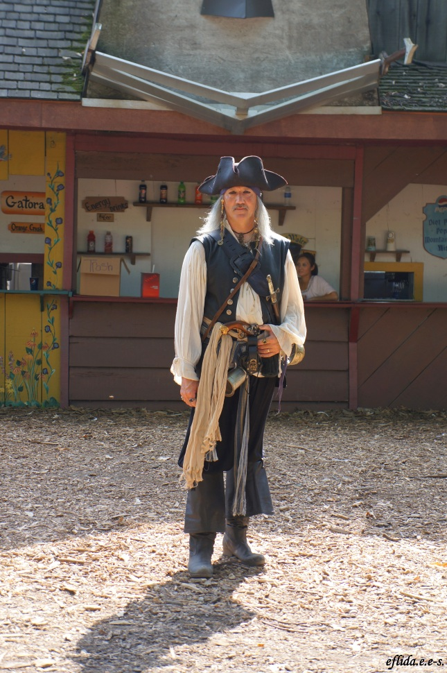 Jack Sparrow at Michigan Renaissance Faire 2012 in Holly, Michigan.