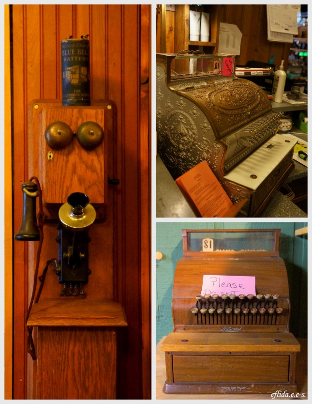 Some vintage items you can find in the shops around Petoskey, Michigan. Some shops have been in business for 20 years or more.