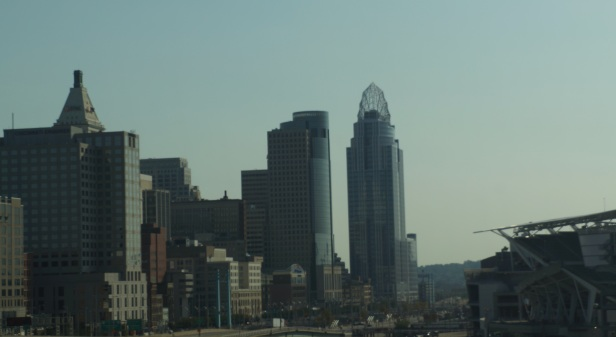 Random view of Cincinnati, Ohio, USA.