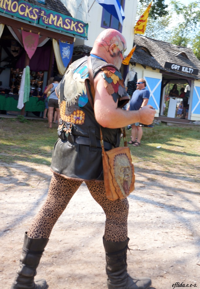 A troll at Michigan Renaissance Faire in Holly, Michigan.