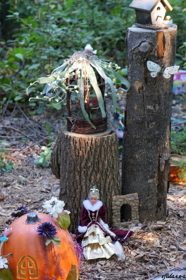 One of the fairy houses at Michigan Renaissance Faire 2012.