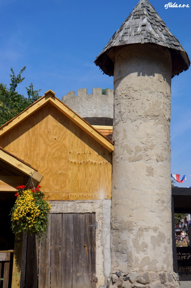 One of the structures at Michigan Renaissance Faire in Holly, Michigan.