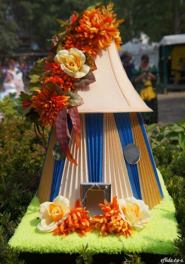 A fairy house at Michigan Renaissance Faire 2012.