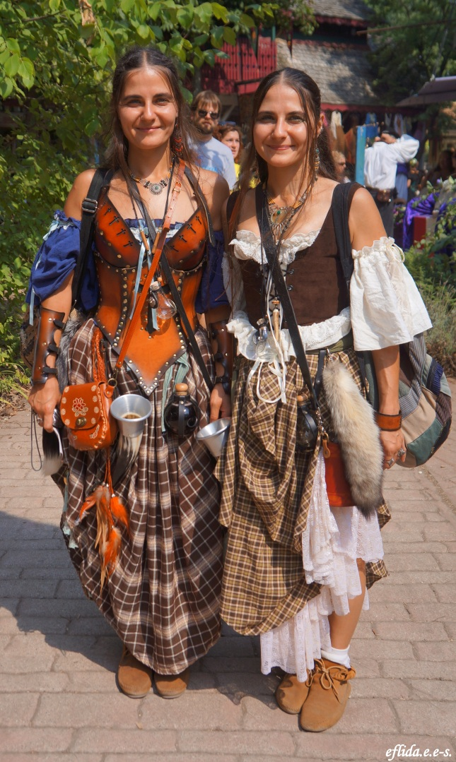 Gypsies at Michigan Renaissance Faire in Holly, Michigan.