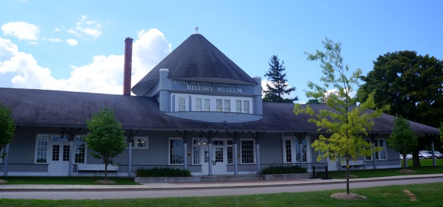 Little Traverse Historical Museum in Petoskey, Michigan.