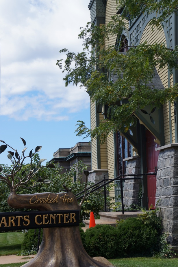 Crooked Tree, Petoskey Art Center in Petoskey, Michigan.