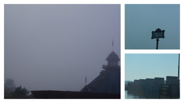 Some foggy mornings in Ohio and Kentucky on our way to Michigan.