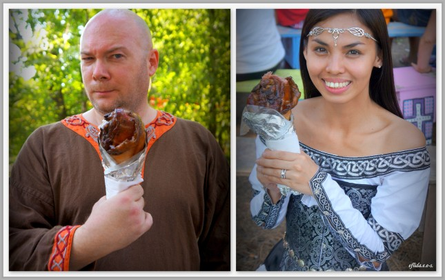 Turkey leg at Michigan Renaissance Faire.
