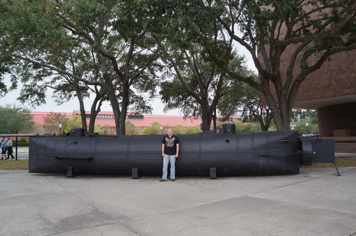 H L Hunley Submarine And Charleston Museum South