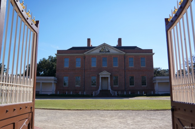 Tryon Palace in New Bern, North Carolina.