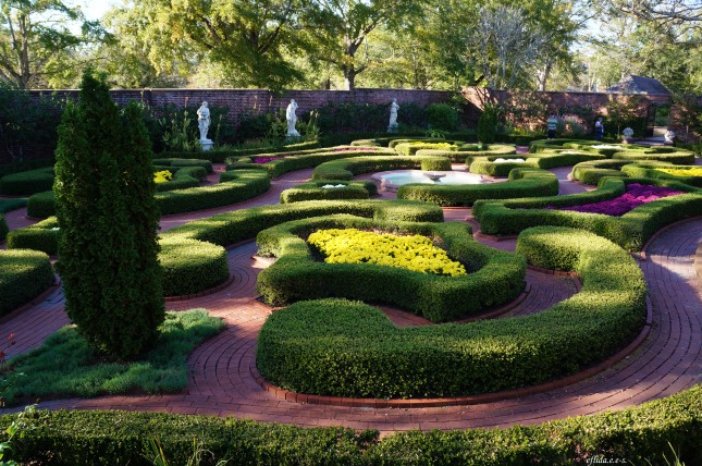 Tryon Palace and Gardens in New Bern, North Carolina.