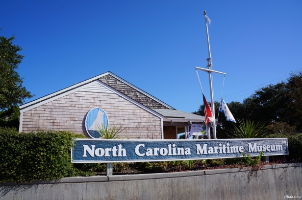 One of the three North Carolina Maritime Museums is in Beaufort.
