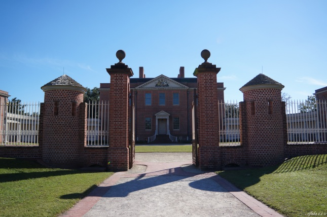 "Tryon Palace in New Bern, North Carolia as mentioned in the book ""A Bend in the Road"" and ""The Wedding"" by Nicholas Sparks."