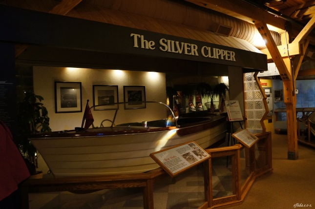 One of the displays at North Carolina Maritime Museum in Beaufort.