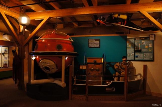 Some displays at North Carolina Maritime Museum in Beaufort.