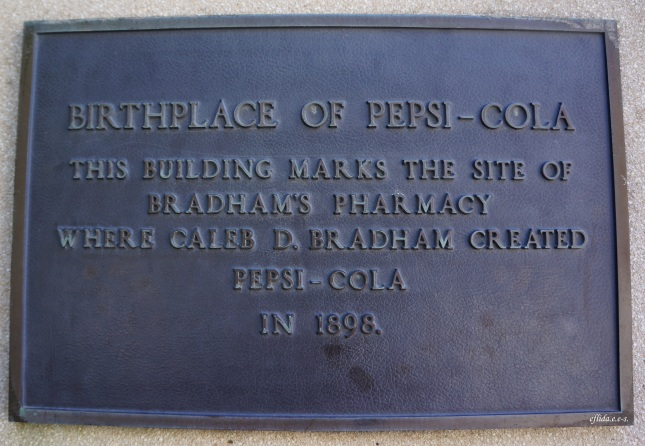 New Bern, North Carolina is the birthplace of Pepsi-Cola.