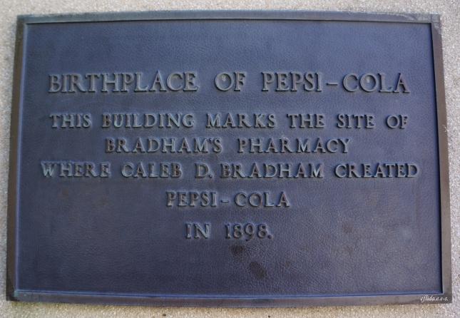 New Bern, North Carolina is the birthplace of Pepsi-Cola.