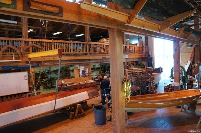 The Harvey W. Smith Watercraft Center in Beaufort, North Carolina.