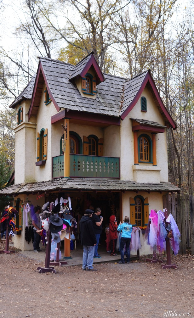 One of the stages at Carolina Renaissance Faire 2012 in Charlotte, North Carolina.