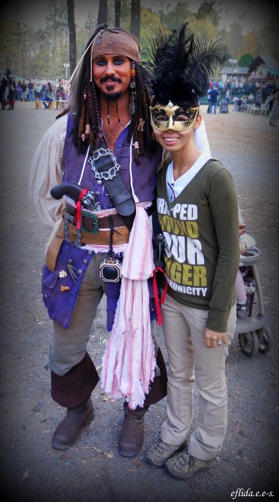 Jack Sparrow at Carolina Renaissace Faire 2012 in Charlotte, North Carolina.