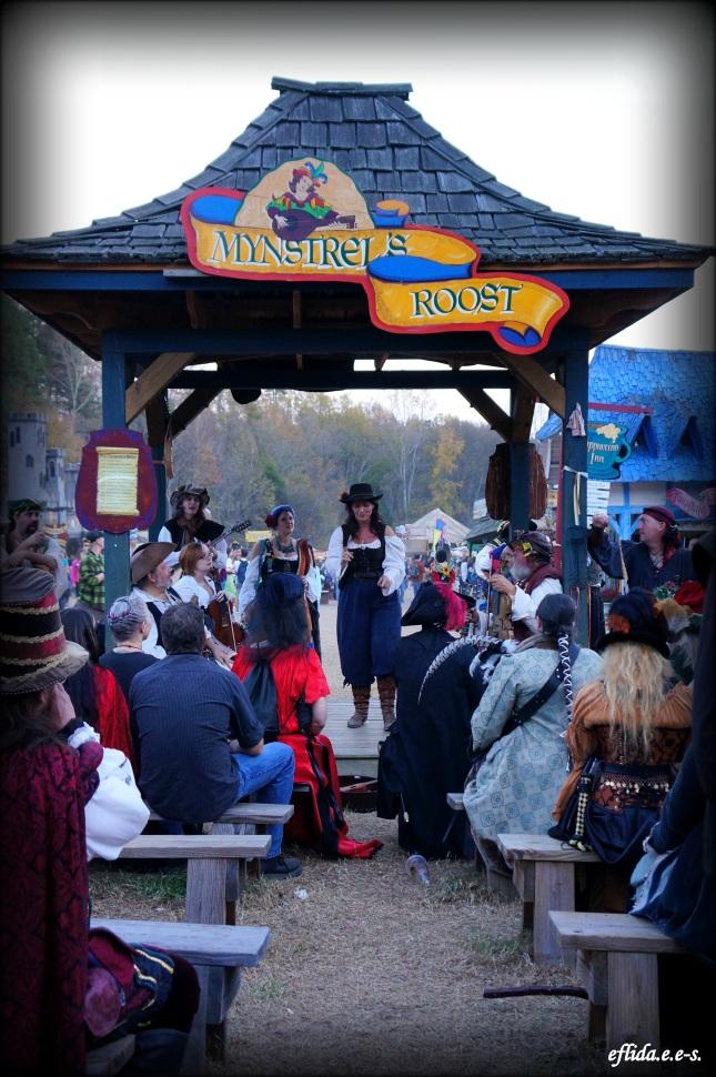 Singing and merrymaking at Carolina Renaissance Faire 2012 in Charlotte, North Carolina.