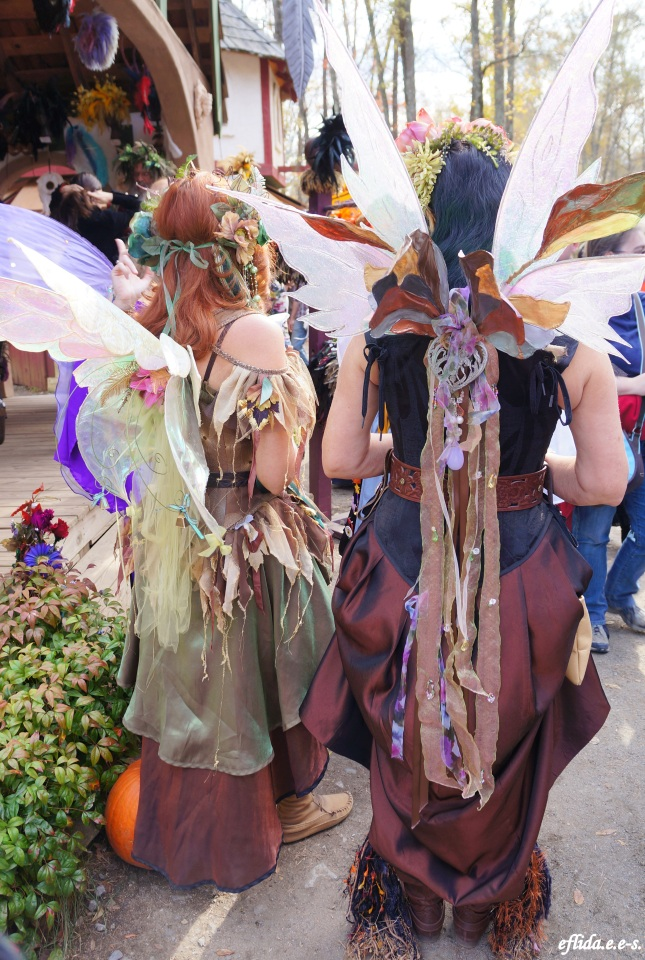 Fairies at Carolina Renaissance Faire 2012 in Charlotte, North Carolina.