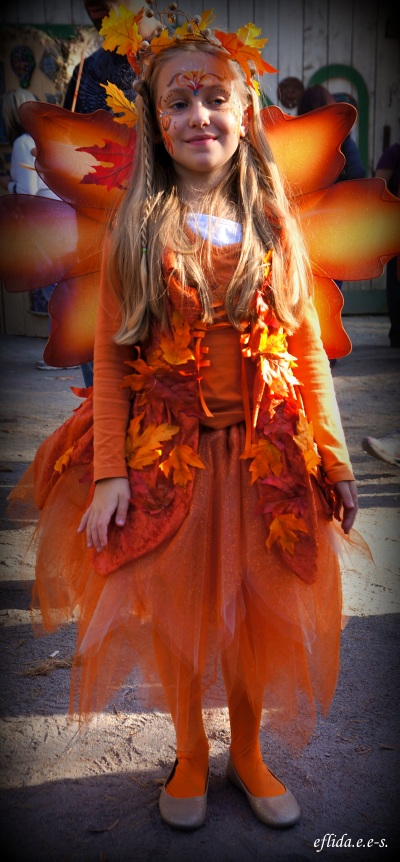 A lovely girl dressed as a fairy at Carolina Renaissance Faire 2012.