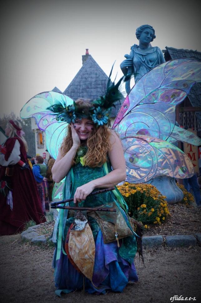 Twig the Fairy at Carolina Renaissance Faire 2012 in Charlotte, North Carolina.