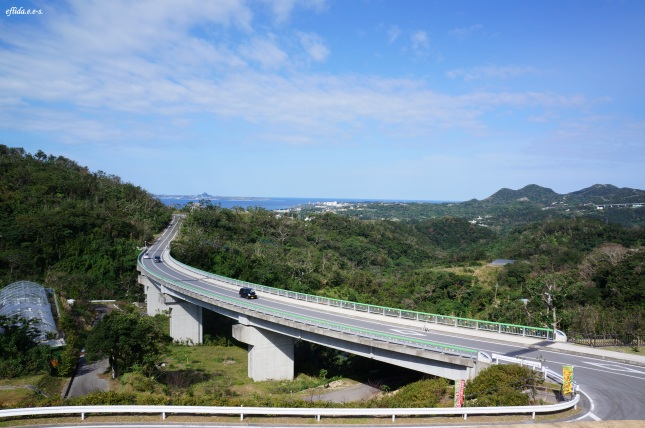 A breathtaking view on top of Mt.Yaedake, Motobu, Okinawa, Japan.