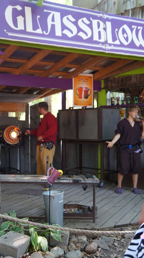 Glass Blowing at Michigan Renaissance Faire 2012