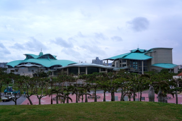 Okinawa Convention Center in Ginowan is the largest multi-function complex in the prefecture.