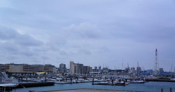 The Ginowan Marina.